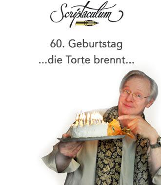 Gedicht Zum 60. Geburtstag