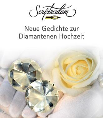 Gedicht zur Diamantenen Hochzeit
