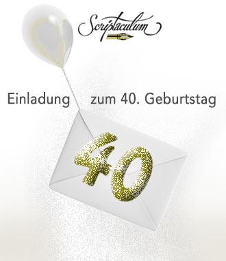 Was Soll`s Die 40 Ist Da! Die Einladung Zur Feier Gelingt Mit Diesen  Mustertexten Immer. So Schön Und Neu Als Spruch Und Gedicht Kommen Unsere  ...