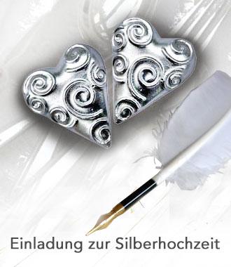 Die Texte Und Sprüche Zur Einladung Silberhochzeit Sollen Stilvoll Und Doch  Originell Sein? Das 25 Jährige Hochzeitsjubiläum Ist Oft Eine Große Feier.