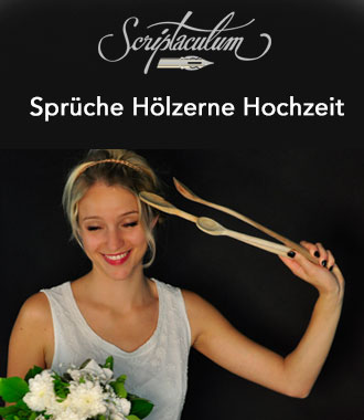 Sprüche Hölzerne Hochzeit, Gedichte, Reden Einladung