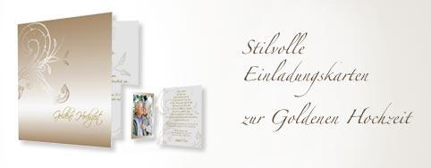 Schön Einladungskarte Zur Goldenen Hochzeit