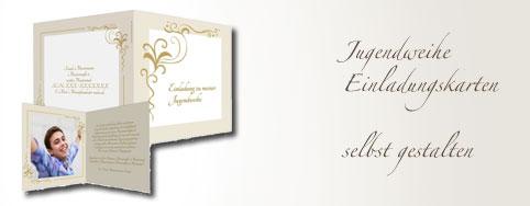 Einladungskarten jugendweihe selbst gestalten for Karten gestalten kostenlos
